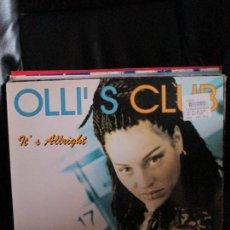 Discos de vinilo: OLLI'S CLUB ?– IT'S ALLRIGHT. Lote 213974873