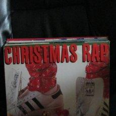 Discos de vinilo: CHRISTMAS RAP. Lote 213975103