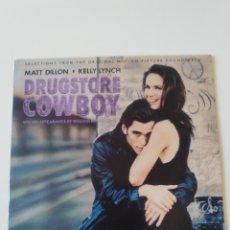 Disques de vinyle: DRUGSTORE COWBOY ( 1989 RCA BMG USA ) ELLIOT GOLDENTHAL DSMOND DEKKER COUNT FIVE BOBBY GOLDSBORO. Lote 213977021