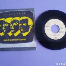 Disques de vinyle: KRAFTWERK SG SPAIN EMI1982 COMPUTER LOVE(AMOR DE COMPUTADORA)/THE MODEL(LAS MODELOS)ELECTRONIC SYNTH. Lote 213979452