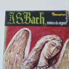 Discos de vinilo: J.S. BACH CHORAL PRELUDIO / TOCCATA Y FUGA EN RE MENOR ( 1962 DISCOPHON ESPAÑA ). Lote 213979607
