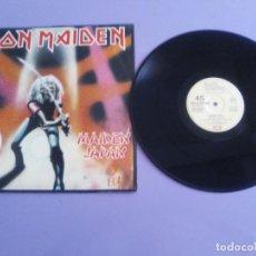 Dischi in vinile: IRON MAIDEN; MAIDEN JAPAN: RUNNING FREE/KILLERS/INNOCENT EXILE/REMENBER T.1ª EDICIÓN ESPAÑOLA 1981. Lote 213982672