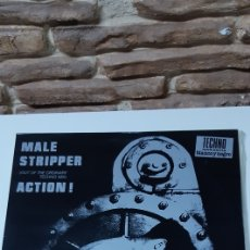 Discos de vinilo: PAUL ZONE AND MAN TO MAN - MALE STRIPPER ACTION. Lote 213982777