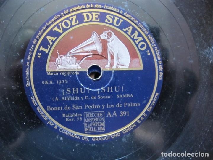 Discos de vinilo: BONET DE SAN PEDRO Y LOS 7 DE PALMA / CARPINTERO, CARPINTERO / ¡ SHU ! ¡ SHU ! (LA VOZ DE SU AMO AA - Foto 3 - 213998991