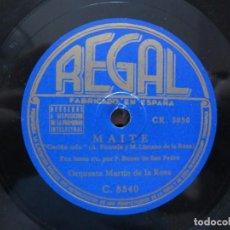 Discos de vinilo: BONET DE SAN PEDRO Y LOS 7 DE PALMA / MAITE / PUPUPIDU (REGAL C. 8540). Lote 213999030