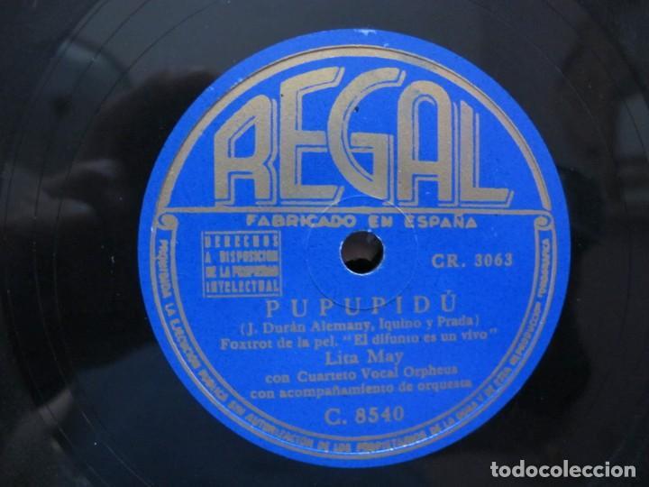 Discos de vinilo: BONET DE SAN PEDRO Y LOS 7 DE PALMA / MAITE / PUPUPIDU (REGAL C. 8540) - Foto 3 - 213999030