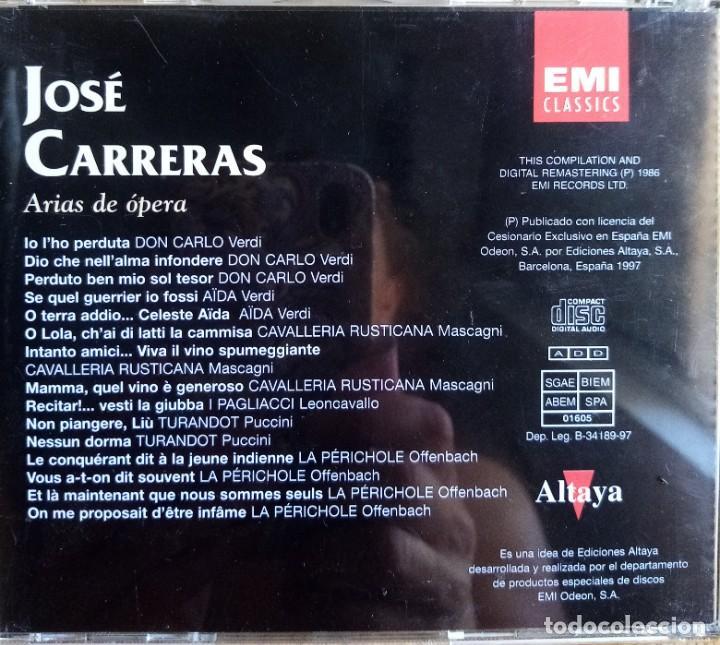 Discos de vinilo: José Carreras - Foto 2 - 214001636