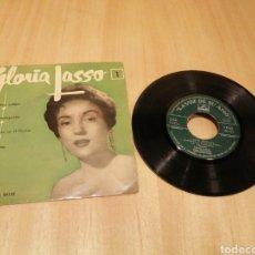 Discos de vinilo: GLORIA LASSO. LISBOA ANTIGUA, LA MALAGUEÑA, ETC.. EP.. Lote 214002230