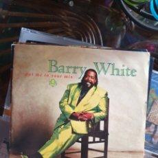 Discos de vinilo: BARRY WHITE - PUT ME IN YOUR MIX. Lote 214004081