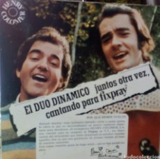 Discos de vinilo: DUO DINÁMICO. JUNTOS OTRA VEZ CANTANDO PARA FIXPRAY. HENRY COLOMER. EP SINGLE GATEFOLD. Lote 214004892