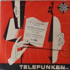 Discos de vinilo: MOZART. PEQUEÑA MUSICA NOCTURNA. JEAN WITOLD. EP ESPAÑA. Lote 214007841