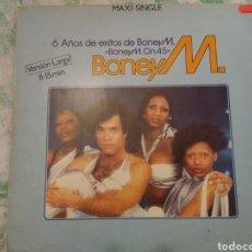 Discos de vinilo: BONEY M MAXISINGLE. Lote 214008268