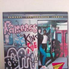 Discos de vinilo: RAMONES ..- SUBTERRANEAN JUNGLE -LP 1983-GERMANY. Lote 214009500