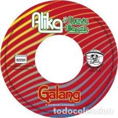 Discos de vinilo: ALIKA & NUEVA ALIANZA – DEJALO GYAL - GALANG JOYA. Lote 214010250
