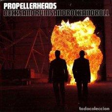 Discos de vinilo: PROPELLERHEADS – DECKSANDRUMSANDROCKANDROLL. INCREIBLE DISCO DE PIRICIPIO A FIN. Lote 214013907