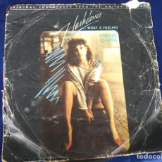 Discos de vinilo: SINGLE FLASHDANCE. Lote 214015757