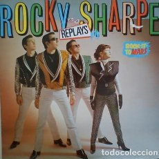 Discos de vinilo: ROCKY SHARPE & THE REPLAYS ‎– ROCK IT TO MARS. LP 1980. Lote 214018323