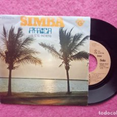 Discos de vinilo: SINGLE SIMBA - ÁFRICA - 8E 006 05993 MG - PORTUGAL PRESS (VG++/VG++). Lote 214018646