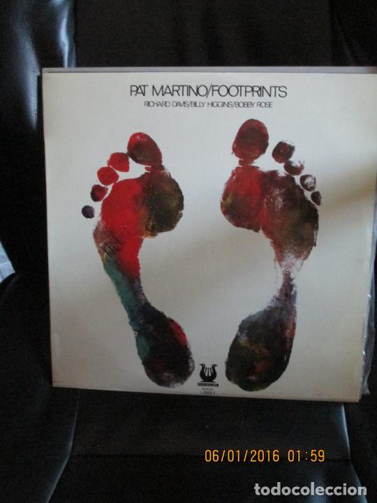 PAT MARTINO ?– FOOTPRINTS (Música - Discos - LP Vinilo - Jazz, Jazz-Rock, Blues y R&B)