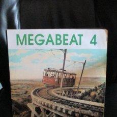 Disques de vinyle: MEGABEAT ?– MEGABEAT 4. Lote 214025386