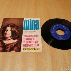 Discos de vinilo: MINA, CANTA EN ESPAÑOL. CIUDAD SOLITARIA, EL CROSSFIRE, ETC.. EP.. Lote 214025542