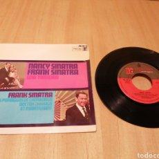 Discos de vinilo: NANCY SINATRA, FRANK SINATRA. UNA TONTERÍA, ETC. Lote 214028975