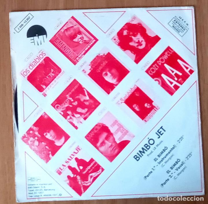 Discos de vinilo: BIMBÓ JET - EL BIMBÓ - EMI J 006-12957- 45 RPM - Foto 2 - 214030362