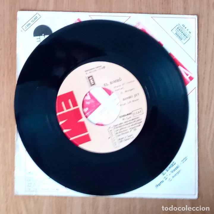 Discos de vinilo: BIMBÓ JET - EL BIMBÓ - EMI J 006-12957- 45 RPM - Foto 3 - 214030362