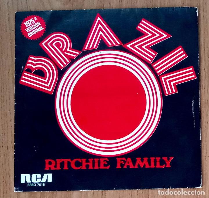 BRAZIL (RITCHIE FAMILY) - 1975 RCA SPB0-7015 - 45 RPM (Música - Discos - Singles Vinilo - Pop - Rock - Internacional de los 70)