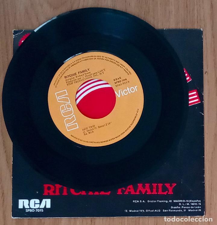 Discos de vinilo: BRAZIL (RITCHIE FAMILY) - 1975 RCA SPB0-7015 - 45 RPM - Foto 3 - 214031156