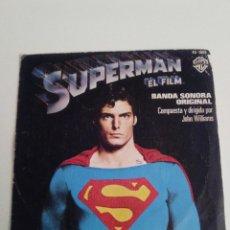 Dischi in vinile: SUPERMAN TEMA DE SUPERMAN / LOVE THEME ( 1979 WARNER HISPAVOX ESPAÑA ) JOHN WILLIAMS. Lote 214037207