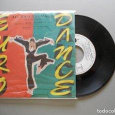 Discos de vinilo: EURO DANCE MEDLEY-ACE OF BASE + DINA CARROLL + U96 + 2 ULIMITED + EAST 17 SINGLE 1993 PROMO. Lote 214037791