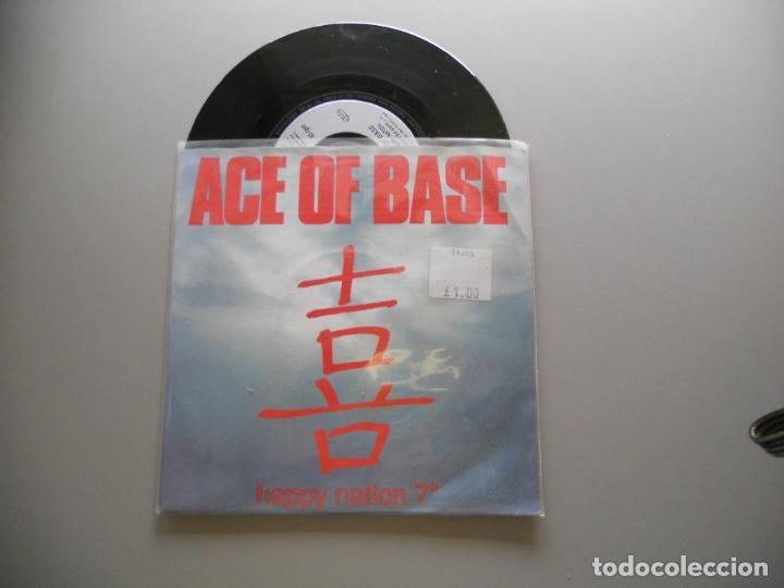ACE OF BASE – HAPPY NATION SINGLE 1993 ALEMANIA VG++/VG++ (Música - Discos - Singles Vinilo - Pop - Rock Extranjero de los 90 a la actualidad)