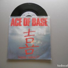 Dischi in vinile: ACE OF BASE ‎– HAPPY NATION SINGLE 1993 ALEMANIA VG++/VG++. Lote 214039205