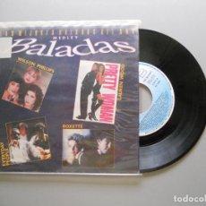 Discos de vinilo: VARIOUS – LAS MEJORES BALADAS DEL AÑO (MEDLEY) SINGLE PROMO 1991 VG++/VG++. Lote 214040036