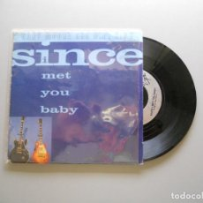 Discos de vinilo: GARY MOORE AND B.B. KING – SINCE I MET YOU BABY SINGLE UK 1992 VG/VG. Lote 214040147