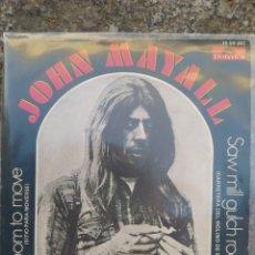 Discos de vinilo: JOHN MAYALL. ROOM TO MOVE. SINGLE VINILO BUEN ESTADO.. Lote 214040227