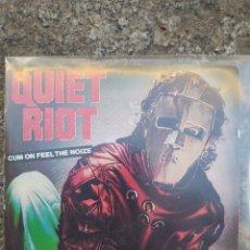 Discos de vinilo: QUIET RIOT. CUM ON FEEL THE NOIZE. SINGLE VINILO BUEN ESTADO.. Lote 214043675
