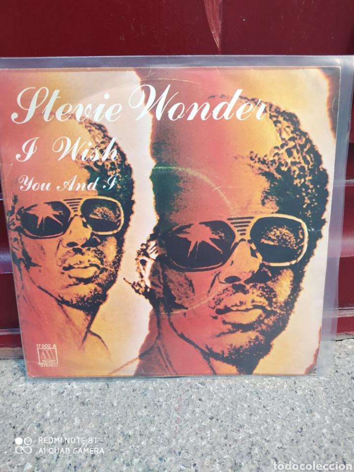 STEVIE WONDER. I WISH. SINGLE VINILO BUEN ESTADO (Música - Discos - Singles Vinilo - Funk, Soul y Black Music)