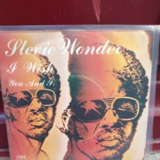 Discos de vinilo: STEVIE WONDER. I WISH. SINGLE VINILO BUEN ESTADO. Lote 214045198