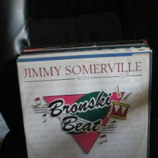 Discos de vinilo: JIMMY SOMERVILLE WITH BRONSKI BEAT ?– SMALLTOWN BOY. Lote 214045697