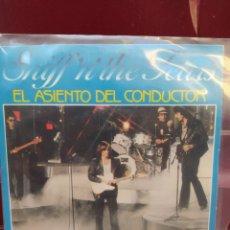 Discos de vinilo: SNIFF 'N' THE TEARS. EL ASIENTO DEL CONDUCTOR. SINGLE VINILO - BUEN ESTADO. Lote 214046187