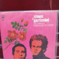 Discos de vinilo: SIMON & GARFUNKEL. MRS ROBINSON. SINGLE VINILO BUEN ESTADO. Lote 214046885
