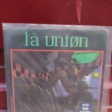 Discos de vinilo: LA UNION. LOBO HOMBRE EN PARIS. SINGLE VINILO BUEN ESTADO. Lote 214047910