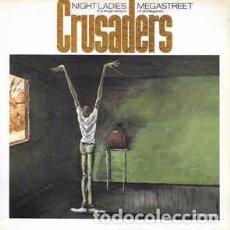 """Discos de vinilo: CRUSADERS* - MEGASTREET / NIGHT LADIES (12"""", SINGLE) LABEL:MCA RECORDS CAT#: MCAT 853. Lote 214048286"""