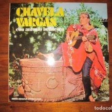 Discos de vinilo: CHAVELA VARGAS CON ANTONIO BRIBIESCA ?. Lote 214049065