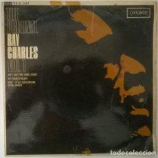Discos de vinilo: RAY CHARLES. THE ORIGINAL VOL 1: AIN'T THAT FINE/ HONEY/ BLUES/ BASKET/DON'T PUT. LONDON, UK 1962 EP. Lote 214057762