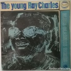 Discos de vinilo: RAY CHARLES. THE YOUNG: FOUND MY BABY THERE/ GUITAR BLUES/ WHY DID YOU GO? BACK HOME. REALM, UK 1964. Lote 214057993
