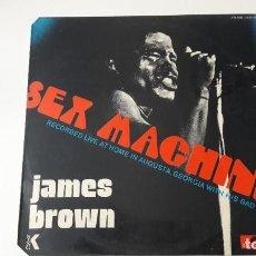 Discos de vinilo: JAMES BROWN SEX MACHINE ED. ESPAÑOLA 1974. Lote 214058135