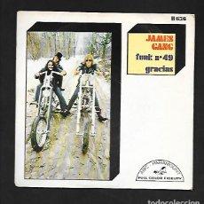"Discos de vinilo: JAMES GANG FUNK N.º 49, THANKS ""GRACIAS"", HISPAVOX H636. Lote 214067510"
